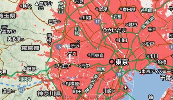 東京 対応エリア マップ
