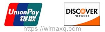 ユニオンペイ ディスカバー カードブランドロゴ