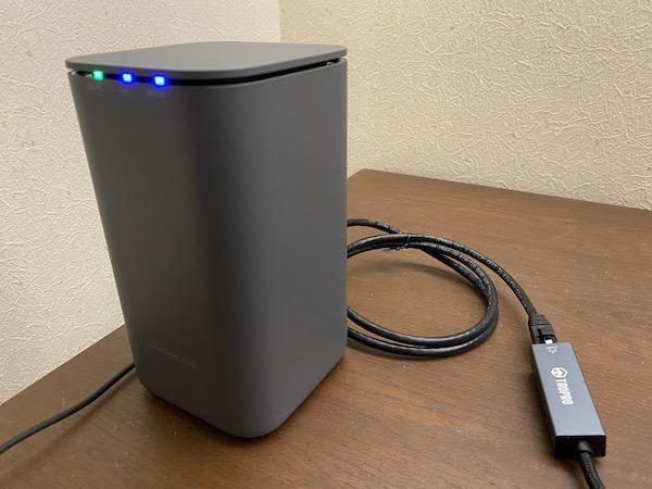 home5G 有線LAN 接続